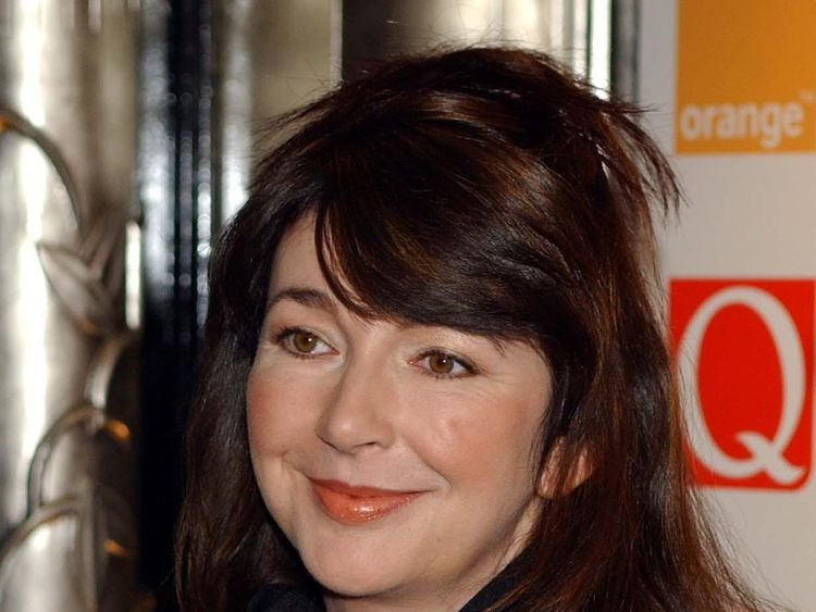 Singer Kate Bush, pictured in 2001, has rejected any affiliation with the Conservative Party