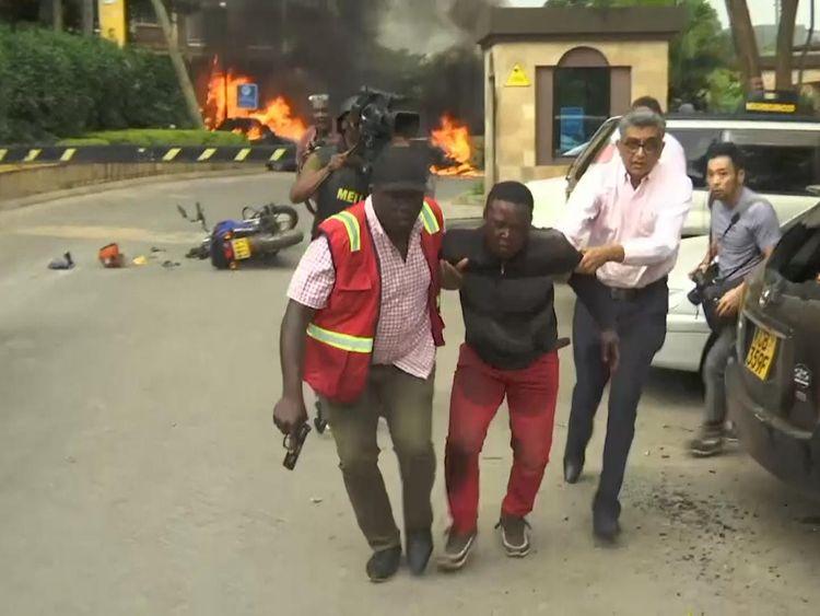 'Scores hurt' in attack at luxury Kenyan hotel