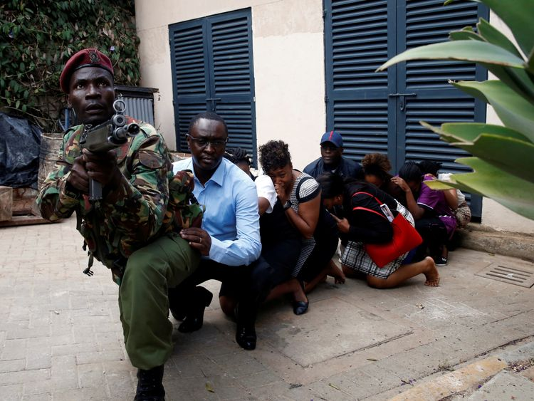Kenya terror attack still 'active', say police