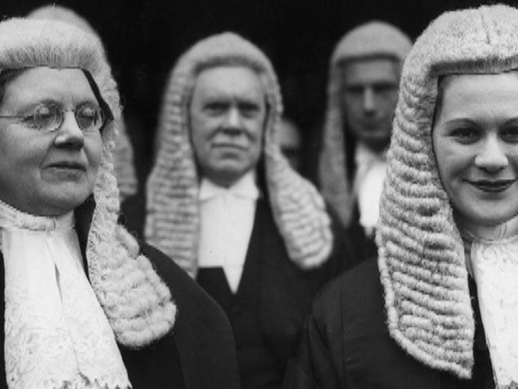 It was not until 1949 that the first two women King's Counsel were appointed