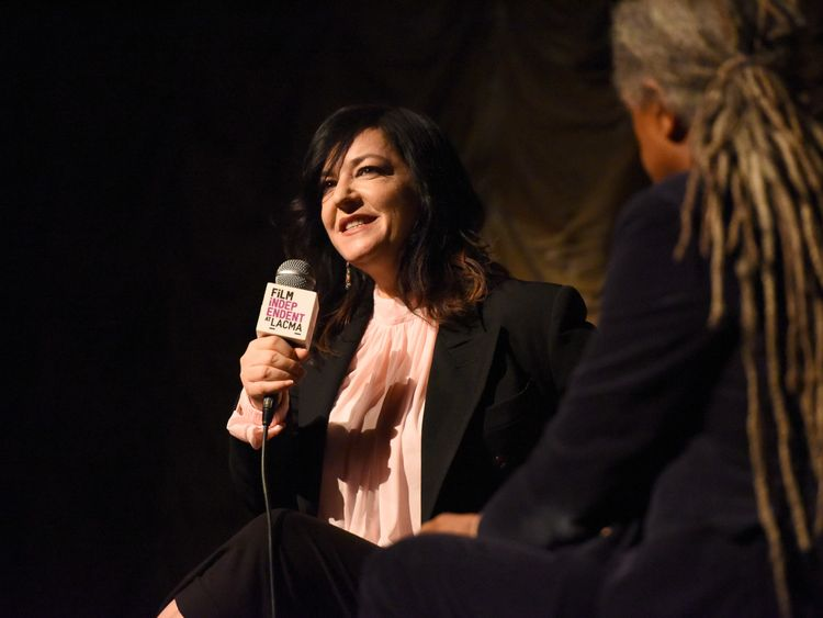 Lynne Ramsay at Bing Theater At LACMA on April 5, 2018 in Los Angeles, California