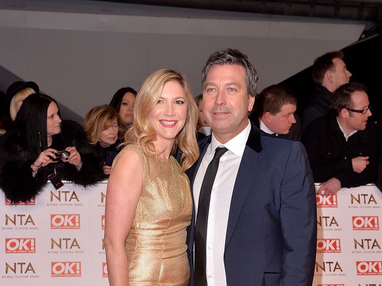 The pair met on Celebrity Masterchef in 2010