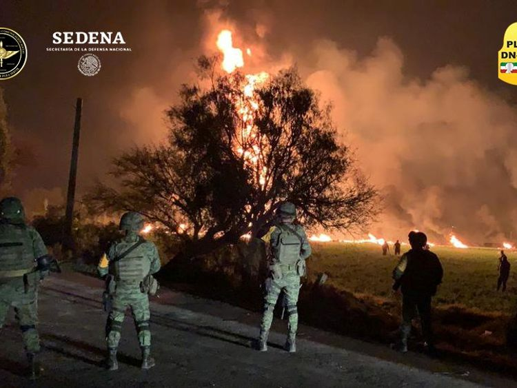 66 killed as pipeline explodes after fuel theft