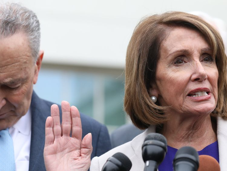 White House Refuses to Budge During Shutdown Talks With Democratic Leaders