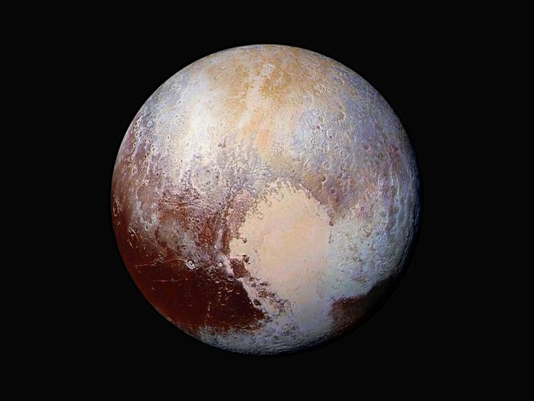 New Horizons took this dramatic photo of Pluto back in 2015
