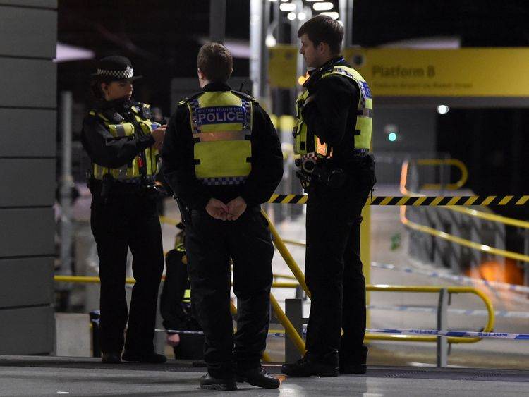 Counter-terror officers are leading the investigation, but police do not believe there is a wider threat