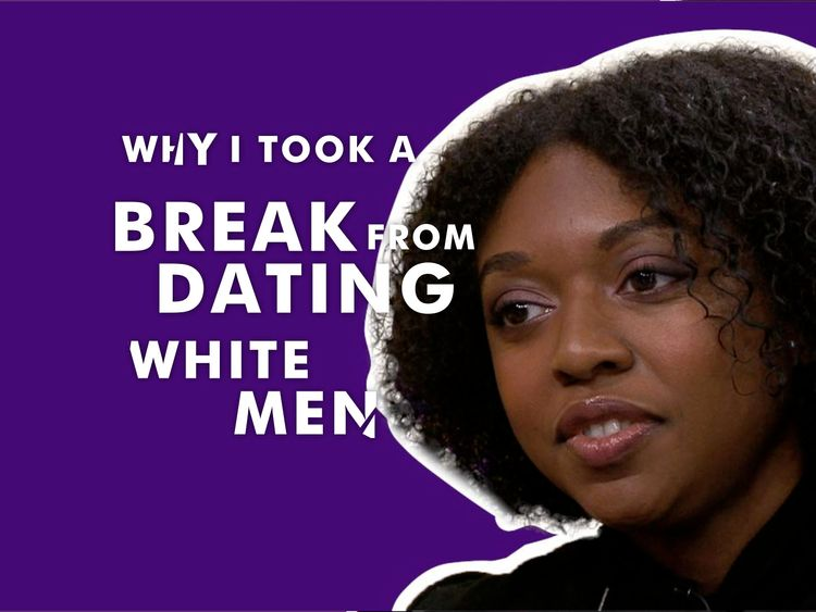 Young writer Rebecca confesses she has taken a break from white men