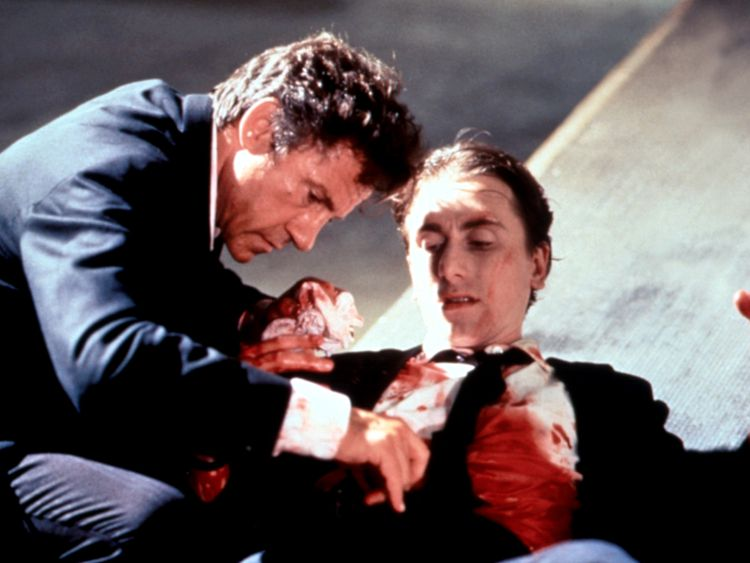 Harvey Keitel and Tim Roth in Quentin Tarantino's Reservoir Dogs