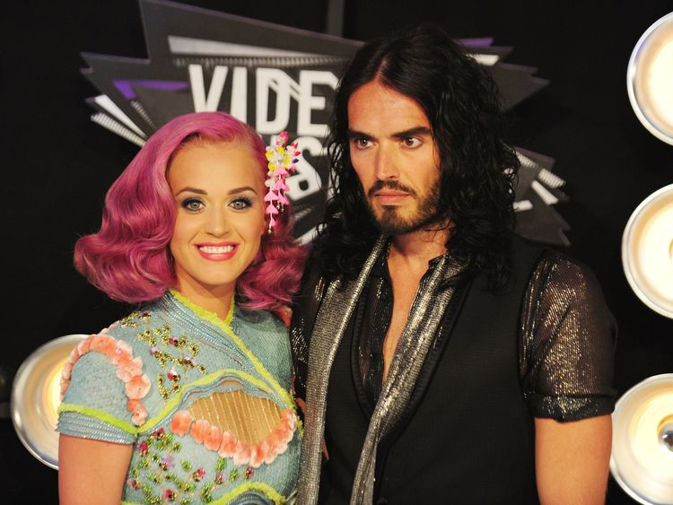 Brand was married to pop singer Katy Perry for 14 months