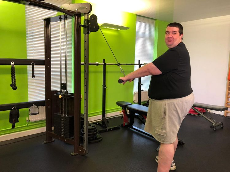 Shaun Hughes has joined a weight-loss program to help tackle his obesity