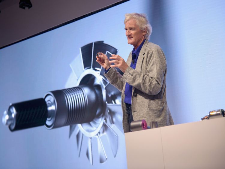 Sir James Dyson is moving his company's headquarters to Singapore