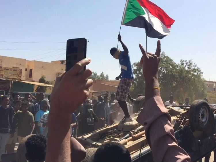 Protester's funeral new flashpoint in Sudan's spreading unrest