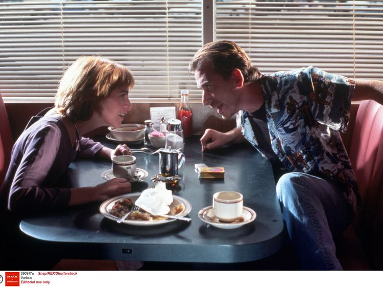 Tim Roth and Amanda Plummer in Quentin Tarantino's Pulp Fiction
