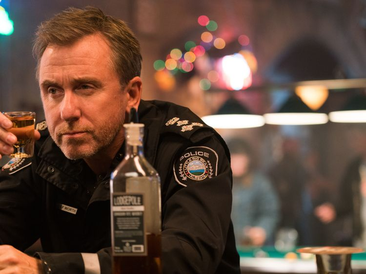 Tin Star - Series 1 - Episode 4..Jim Worth (TIM ROTH). Pic: Sky Atlantic
