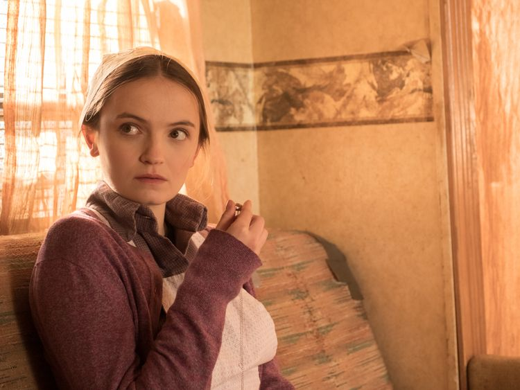 Abigail Lawrie stars as Anna Worth in Tin Star. Pic: Sky Atlantic
