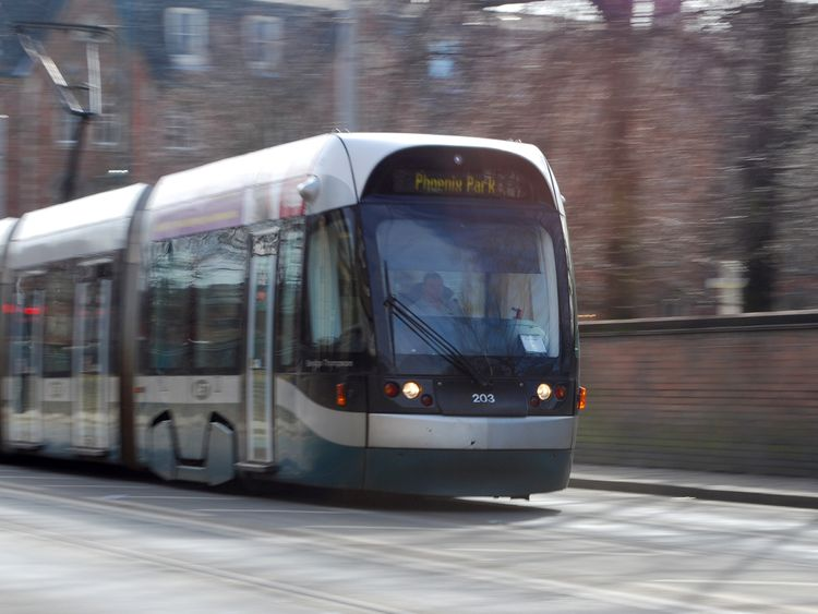 Nottingham has used the parking fee in cash to improve the tram network