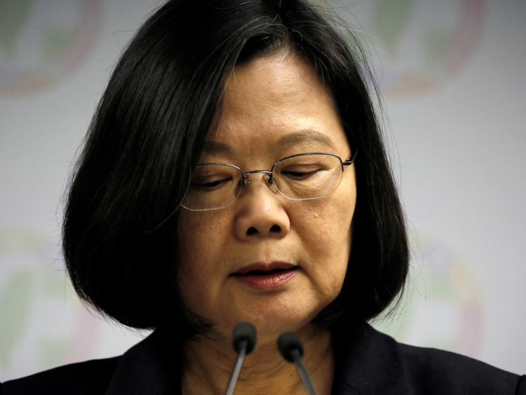 "President Tsai Ing-wen refuses to acknowledge Beijing's ""one China"" stance"