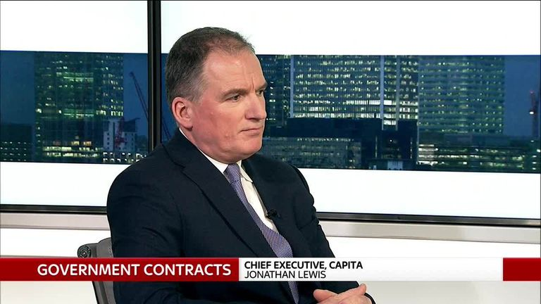 Capita CEO Jonathan Lewis appears on Ian King Live, 24 January 2019