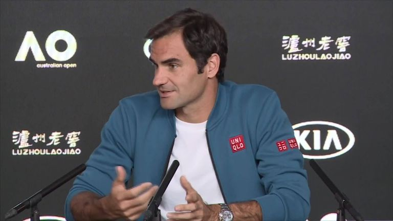 Roger Federer says Andy Murray's retirement will