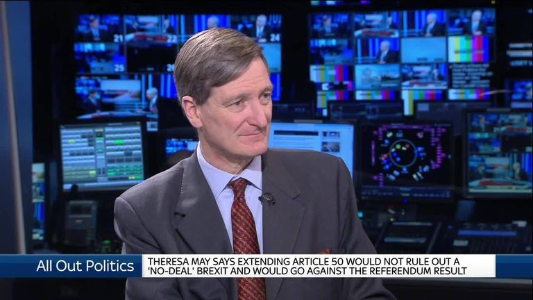 "Dominic Grieve explains his amendment to PM's Plan B motion which would give MPs a greater and pave the way to block ""no-deal""."