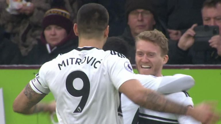 Andre Schurrle's stunning strike for Fulham against Burnley | Football News |