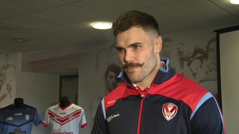 Alex Walmsley excited and nervous for St Helens return after 10 months out with neck break | Rugby League News |