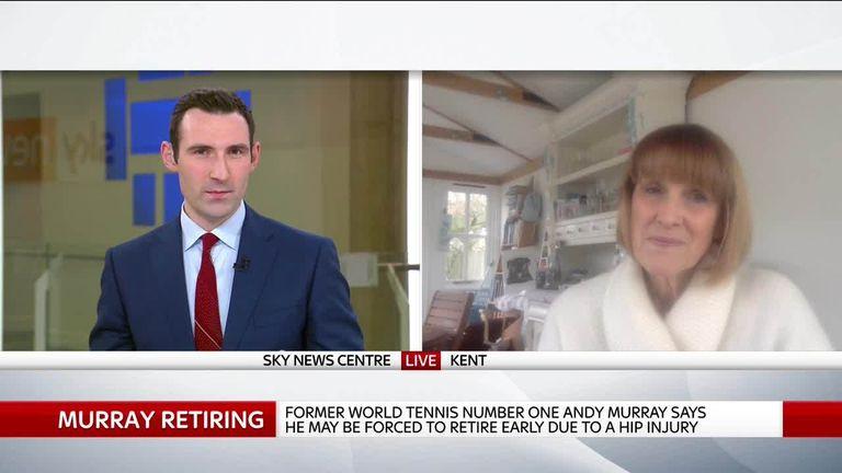 Sue Mott comments on Murray's retirement