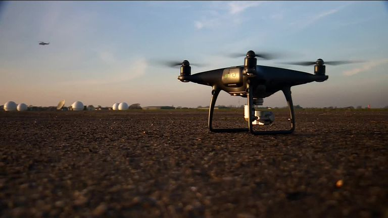 Drone users must register and pass online theory test - or face £1k fine