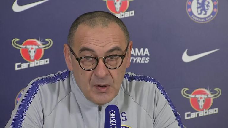 Sarri questions Chelsea motivation after Arsenal surrender