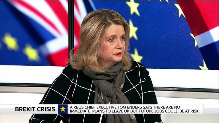 Airbus senior vice president Katherine Bennett appears on Ian King Live, Thursday 24 January 2019.