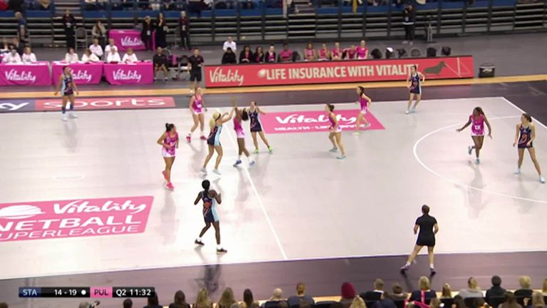 Watch the dramatic clash between Severn Stars and London Pulse on the first day of the season