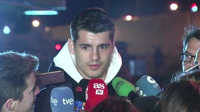 Morata completes loan switch to Atletico Madrid