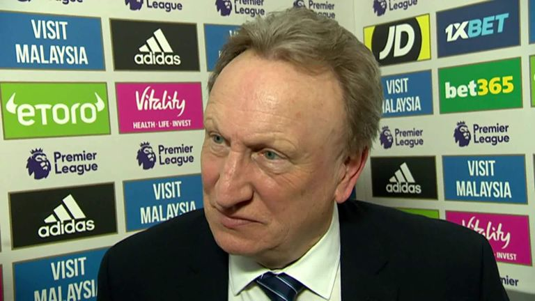 Cardiff FC manager Neil Warnock 'cannot wait to get out of EU'
