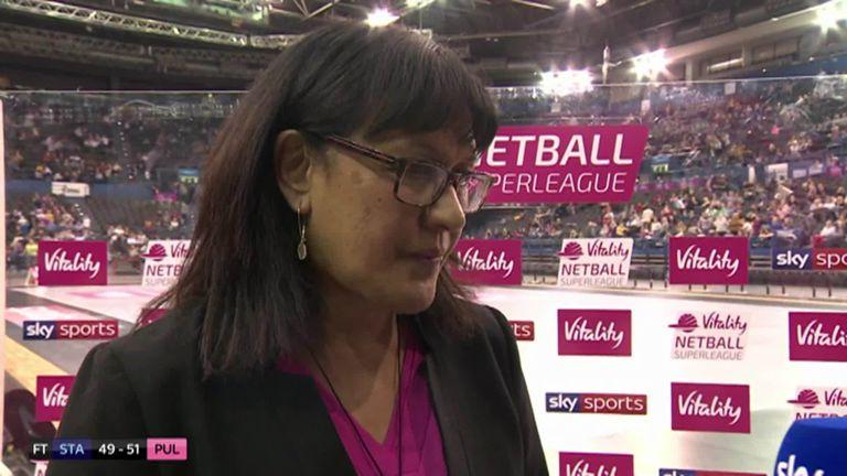 London Pulse head coach Te Aroha Keenan was proud of her team's gutsy performance as they won on their Netball Superleague debut.