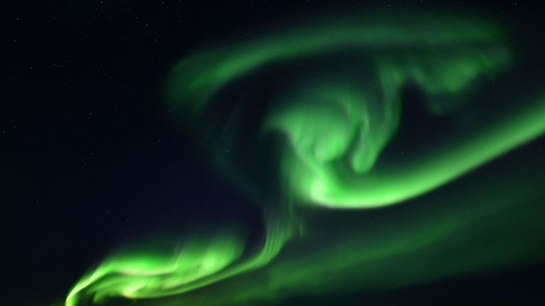 The Northern Lights is also known as the aurora borealis