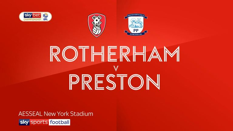 3:09                                            Highlights of the Sky Bet Championship match between Rotherham and Preston
