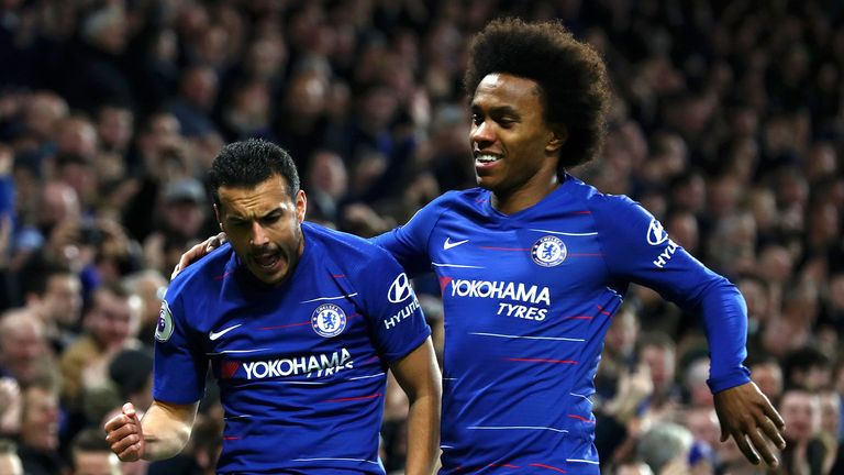 Chelsea tighten grip on fourth