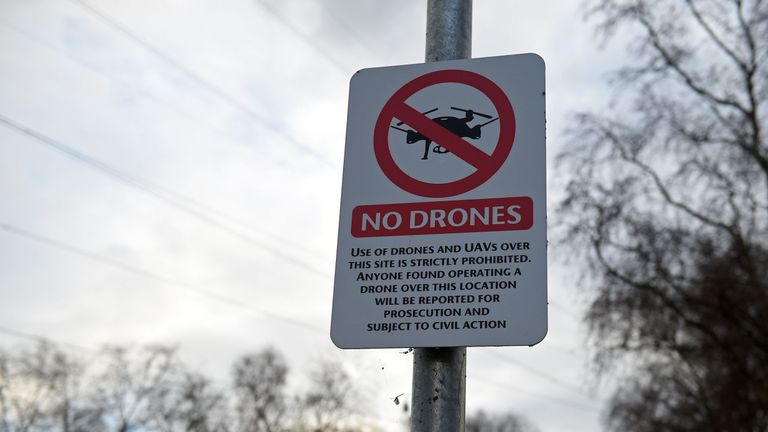 Airports were asked by their ability to deal with drones