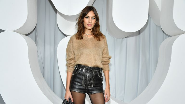 Alexa Chung has also signed up to the agreement