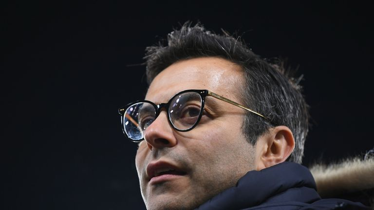 Leeds United owner Andrea Radrizzani