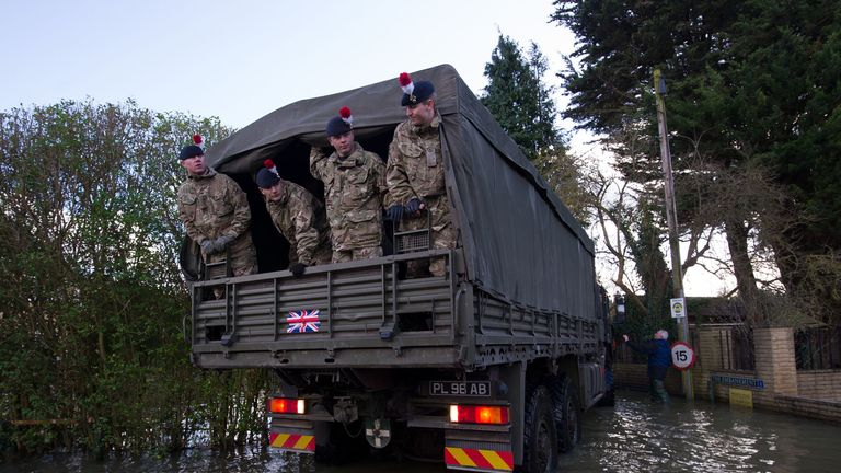 Around 3,500 military personnel could be deployed on no-deal Brexit duties