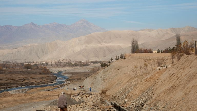 The mine collapse happened in the Kohistan district of Badakhshan province. File pic