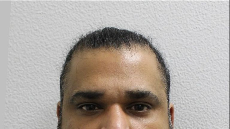 Baljit Gill, 38, was King's associate. Pic: Met Police