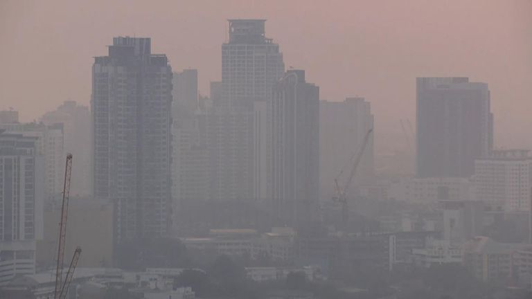 Respiratory diseases in the Thai capital have been rising since August