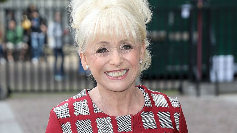 Dame Barbara Windsor's memory is triggered when she watches herself on screen