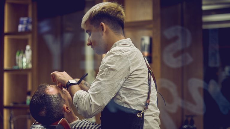 Barbers used to be one of the few places to get condoms
