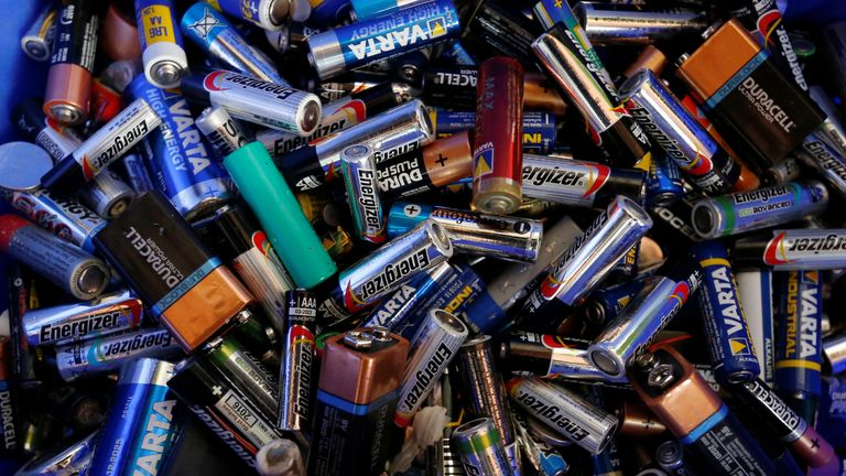 Batteries are more commonly associated with powering small household goods