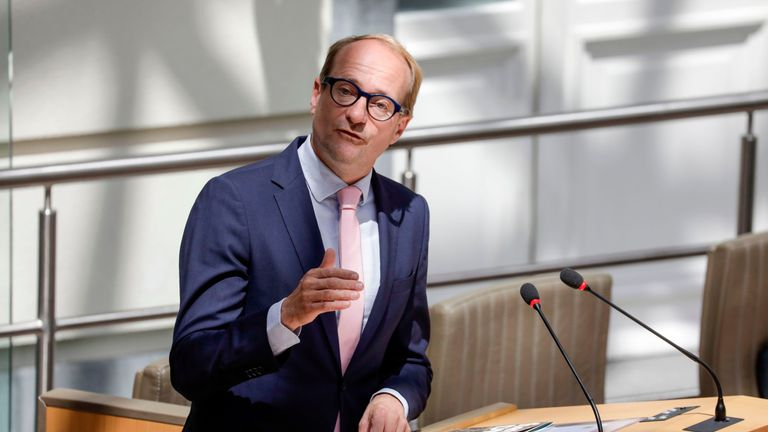 Ben Weyts is the Flemish minister for animal welfare