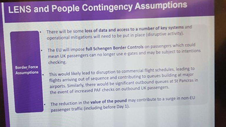 UK Border Force presentation