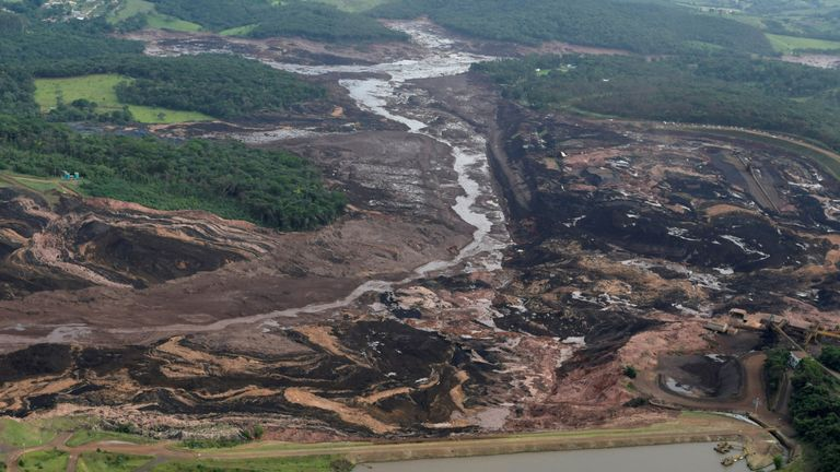The country's president has described the mining dam collapse as a 'tragedy'